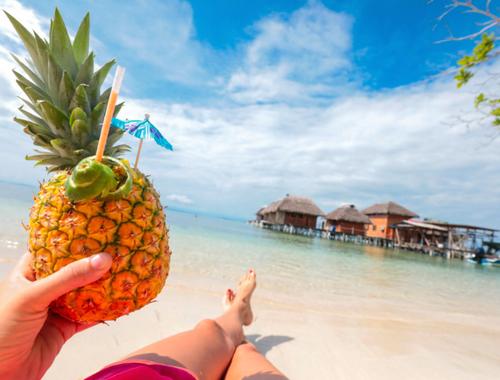 Rosie Bell travel writer portfolio - Azul Paradise resort bocas del toro Panama - Over the water honeymoon bungalows