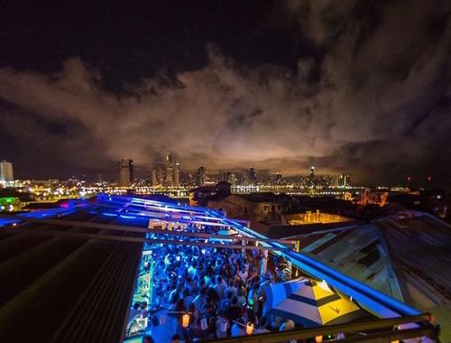 Rosie Bell travel writer portfolio - Panama city casco viejo rooftop bars - Casco Antiguo Spanish school